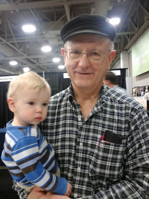 A 1967 Innovation fire survivor and his grandson