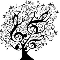 arbre musique