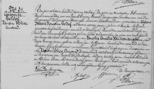 Naissance de Zenon Geldof à Boezinge (Ypres) le 27 février 1882, fils d'Alfons Marie Romain Geldof et de son épouse Zénobie Amélie Van Wonterghem (c) LDS-Familysearch