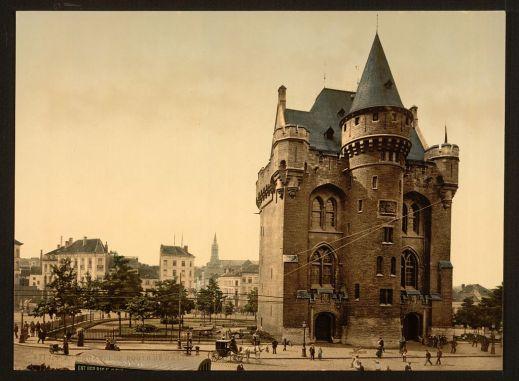 La Porte de Hal en 1890-1900.